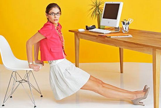 Как сделать зарядку за рабочим столом